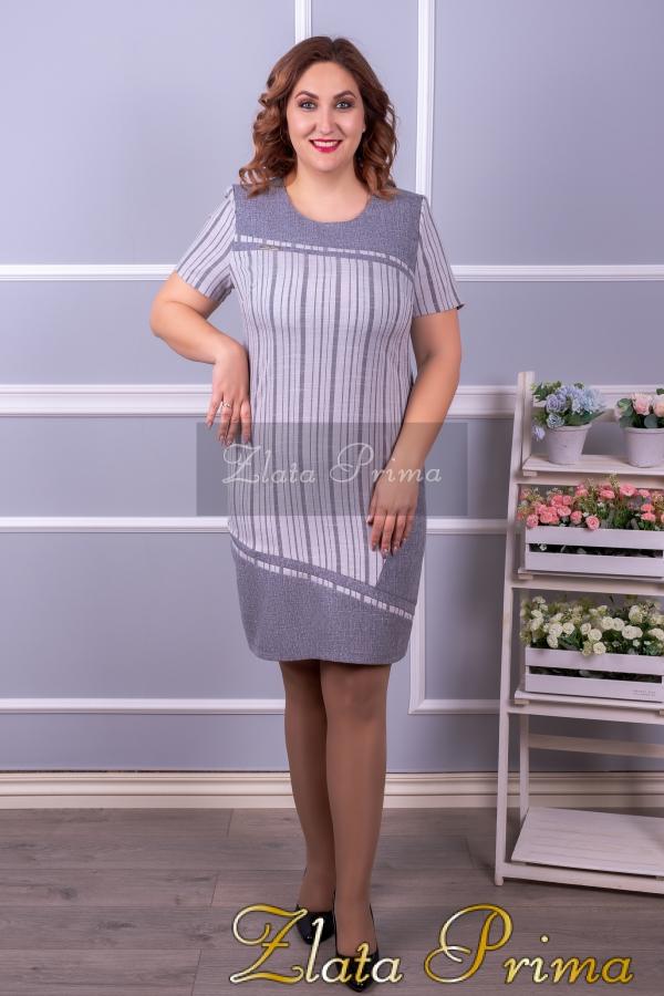 """Платье """"Кокетка лён"""""""